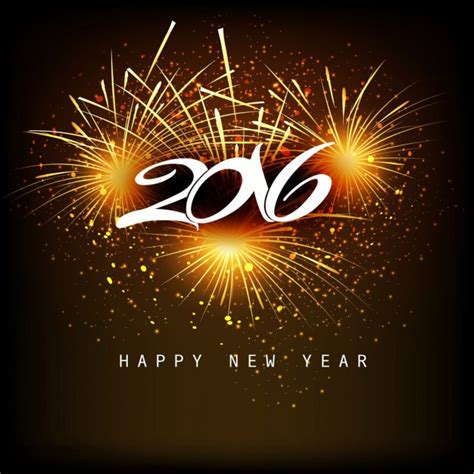 new year 2016 vector free fantastic new year 2016 background vector free