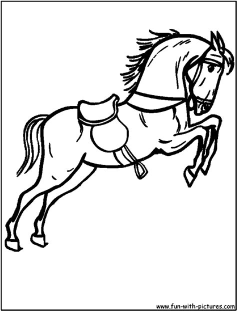 coloring pages of race horses race coloring page