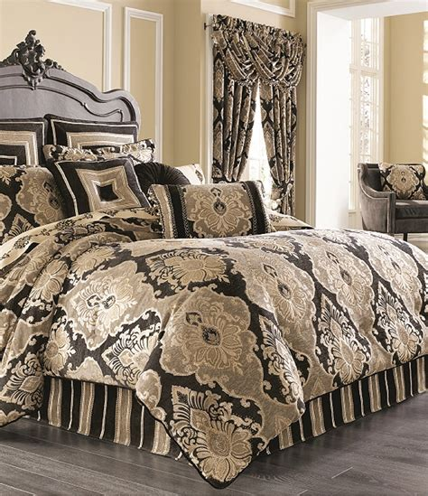 comforters at dillards j queen new york bradshaw damask chenille comforter set