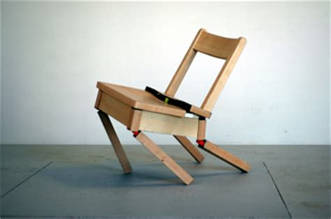 Chair Collapse by Monochrom