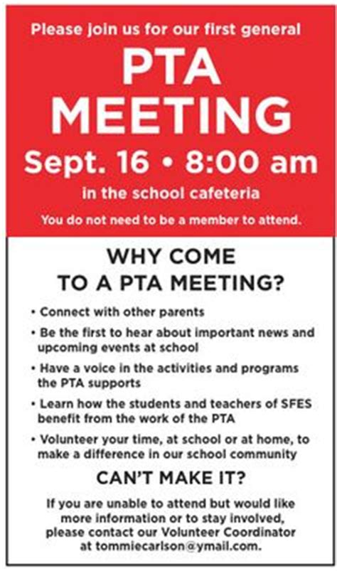 Invitation Letter To Parents For Pta Meeting 1000 Images About Pta Ideas On Volunteers Pta Meeting And Tags