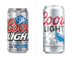 coors light brand new new logo and packaging for coors light by
