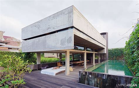 modern tropical home in indonesia living asean