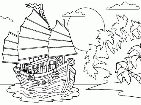 water transportation colouring pages page 2 az