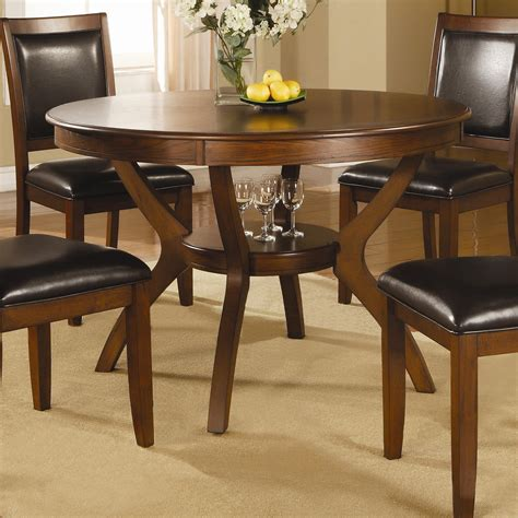 coaster kitchen table coaster nelms table with shelf sol furniture