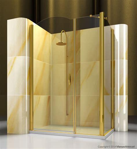 box doccia vismara prezzi box doccia angolare su misura in vetro temperato gold a2