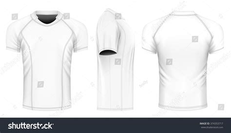 jersey design free vector rugby jersey front back and side views fully editable