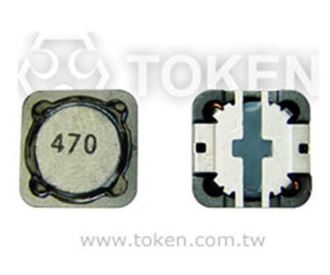 token power inductors smd large current power inductor wirewound inductors tpsrh 124 125 127 token components