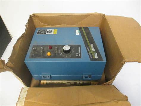 warner electric cm power  ac drive   hp kw