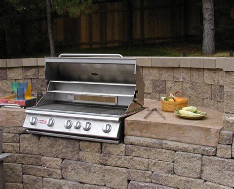 Backyard Bbq Mount Outdoor Kitchens And Bbq Surrounds Traditional