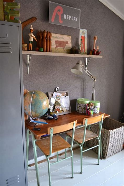 Vintage Desk Ideas 12 Awesome Workspaces With Vintage Touch House Design And Decor