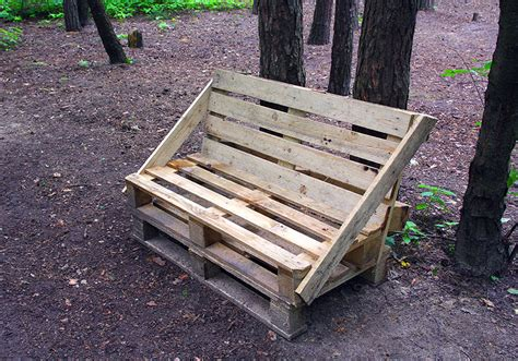 rustic pallet bench 59 creative wood pallet ideas diy pictures designing idea