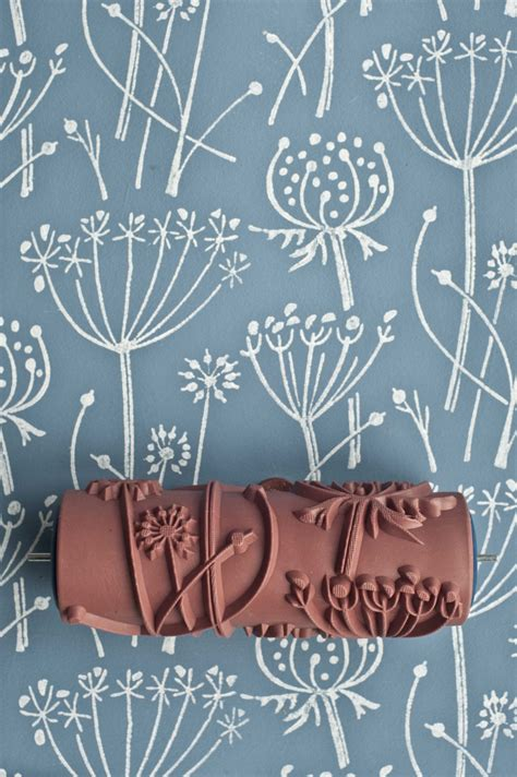 paint rollers with designs tussock patterned paint roller