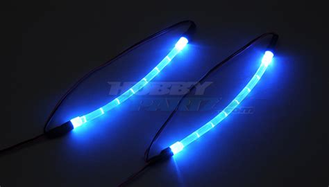 blue led light strips hobbypartz blue underbody lighting kit for rc cars