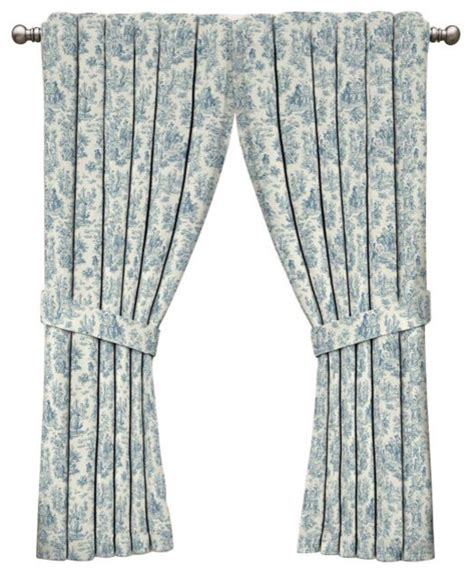 waverly toile curtains waverly charmed life toile window curtain curtains by