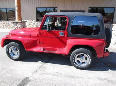 1991 Jeep Wrangler Sale 1991 Jeep Wrangler For Sale In Chadron Ne