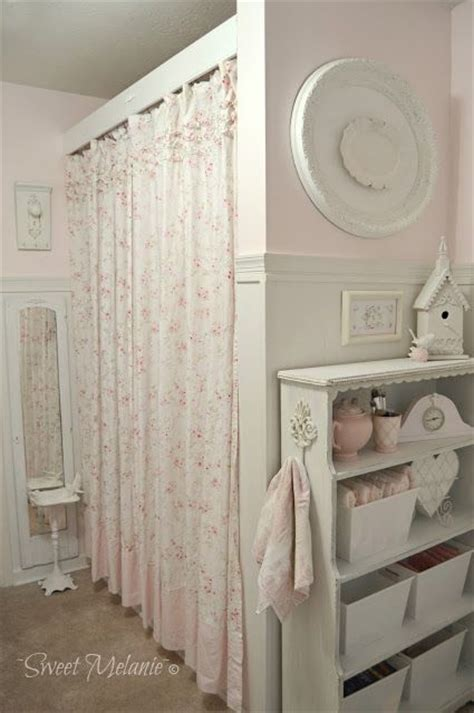 shabby chic curtain rod best 25 shabby chic curtains ideas on pink