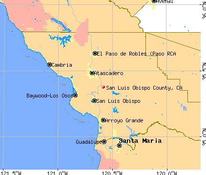 san luis obispo county california detailed profile
