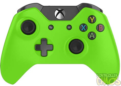 matte green xbox one modded controller controller chaos