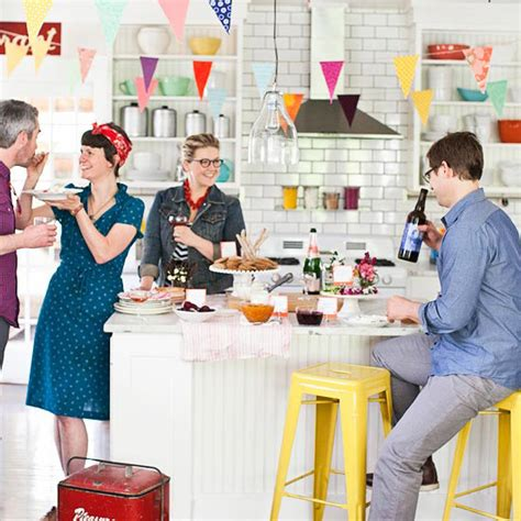 Social Decorating Ideas by Social Ideas From Better Homes And Gardens