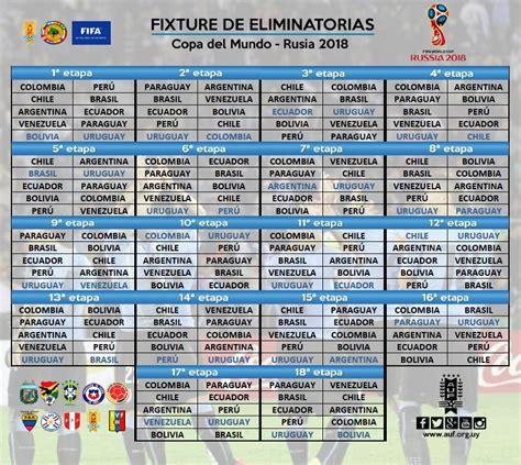 Calendario Rusia 2018 Concacaf Sorteo Eliminatorias Rusia 2018 Mira El Fixture Completo