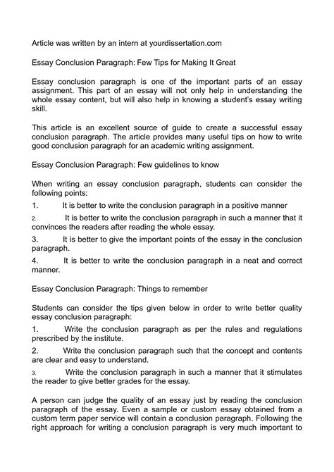 Writing Conclusions For Essays by College Essays College Application Essays How To Write An Essay Conclusion