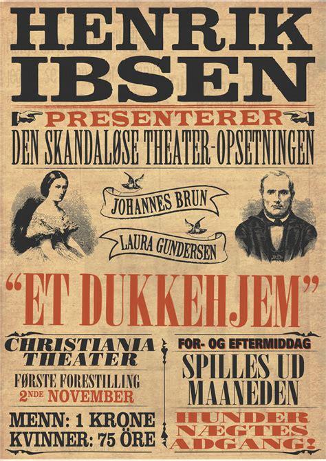 a doll house henrik ibsen pdf theatrestudent drama 16b