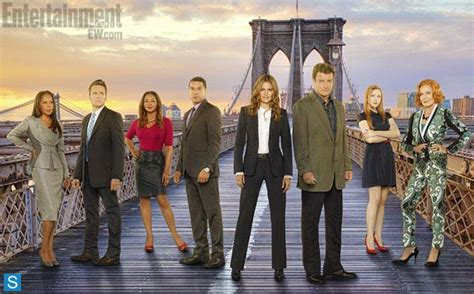 will there be a new episode of castle for 2016 or 2017 castle season 6 new group promotional cast photo