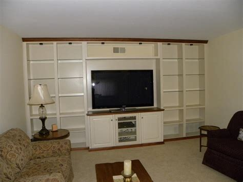 Wall To Wall Bookcase Custom Maple Bookcase Wall Unit