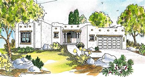 Pueblo Style House Plans by Pueblo Style House Plan 72191da Architectural Designs