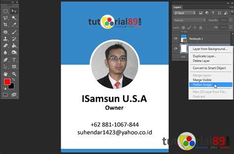 membuat id card korea cara mudah membuat id card dengan photoshop tutorial89