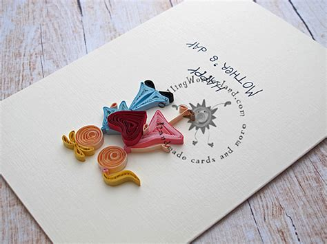 Handmade Days - mothers day handmade card