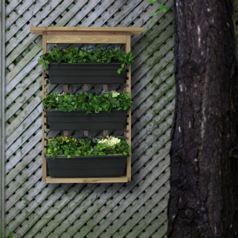 Living Wall Planter Large Vertical Garden by Algreen 34002 Garden View Vertical Living Wall Planter