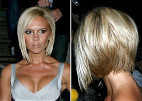 Has A New Posh Hairstyle by Nape Beckham Posh Spice Has The Best Bob