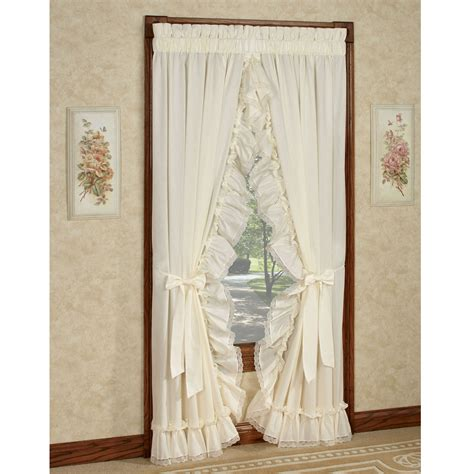 ruffled priscilla window curtains madelyn ruffled priscilla curtains window treatment