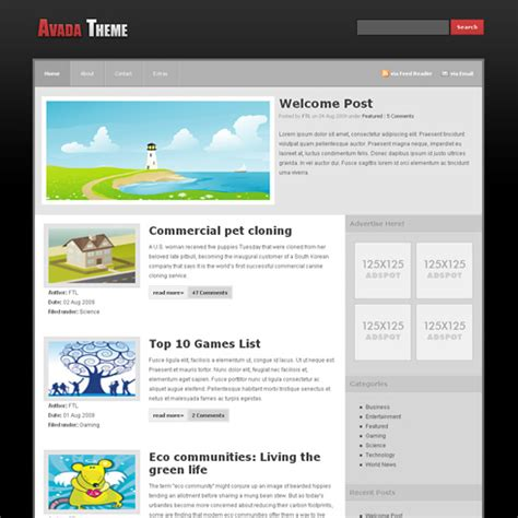 theme avada wordpress free avada wordpress theme freethemelayouts com