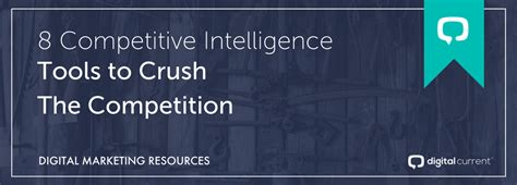 8 Innovative Ways To Approach Your Crush by Use These 8 Competitive Intelligence Tools To Crush The