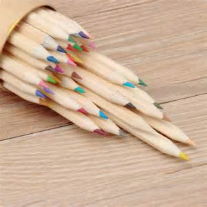 wooden colored pencils 36 colors wooden craft paper cartridge colored