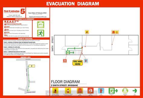 evacuation plan template nsw evacuation diagrams emergency plans f5m