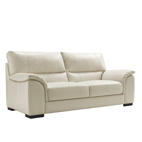 Italian Leather Sofa Design Modern White Jen Joes Modern Design Leather Sofa
