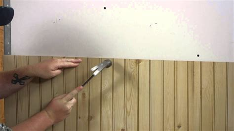 How To Install Wainscoting Planks by How To Install Wall Paneling Walls Paneling