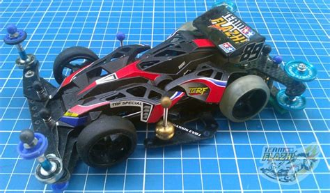 Tamiya 19608 Knuckle Breaker Black Special X Chassis max breaker black special x evo tamiya mini 4wd