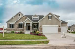 This encore plan has a craftsman exterior this home is currently the