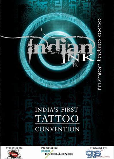 tattoo expo india indian ink tattoo fashion expo india s 1st tattoo