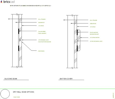 Corian Details Wall Seam Options Aia Cad Details Zipped Into Winzip