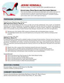Resume For Store Manager by Resume Retail Manager Resume Exles Retail Manager Resume Summary Retail Assistant