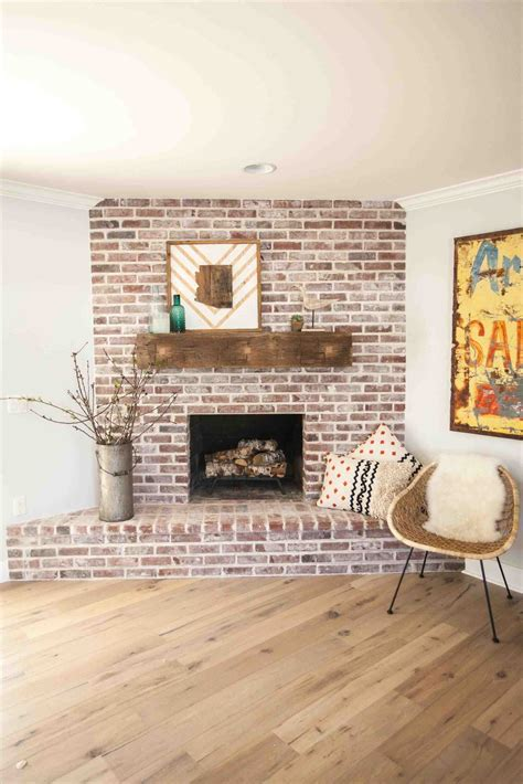 reclaimed brick fireplace also provided reclaimed beams distressed wood wall around fireplace siudy net