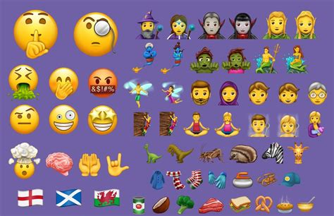 emoji ios 11 deze 56 ios 11 emoji komen dit najaar naar je iphone en ipad
