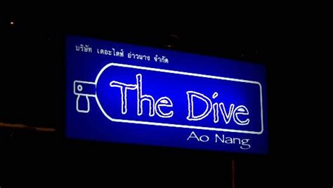 the dive ao nang krabi eco cycle krabi town thailand address phone