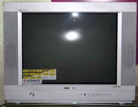 Tv Konka 21 Inch konka kp21207 21 quot true flat crt color tv with free stand fan cebu appliance center